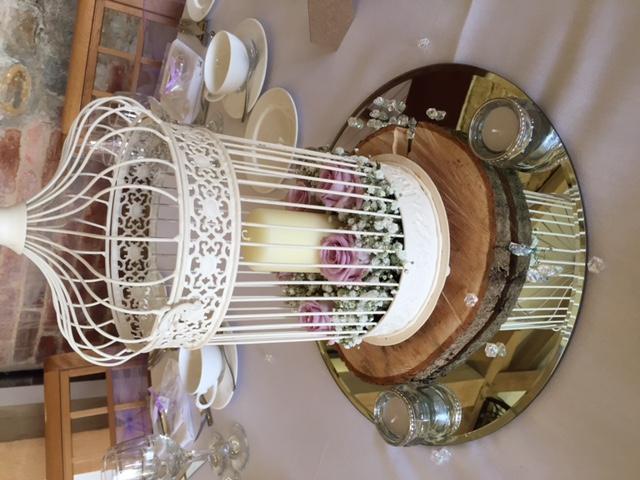 Lilac birdcages - Dodford