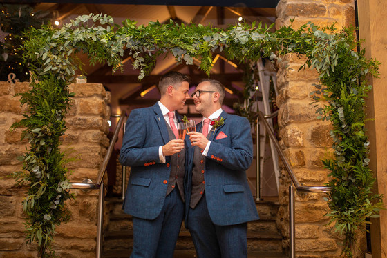 Callumn & Rob Featured Wedding - Dodford Manor
