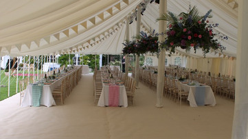 Marquee Type - Traditional Marquee Hire