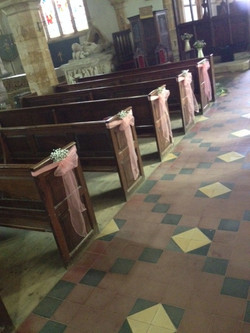 Dodford Church - Pews