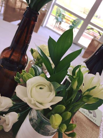 Wedding Venue Table Dressing at the granary