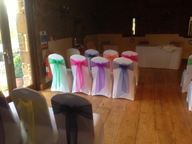 Crockwell Farm - Rainbow sashes