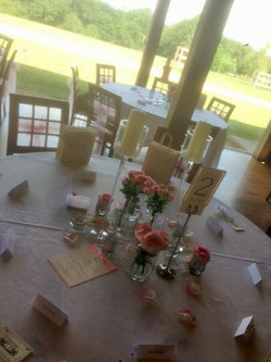 Dodfors - pink vase table center