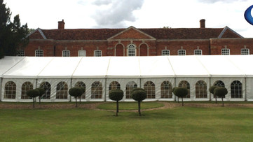 Marquee Hire Type - Framed Marquee Hire