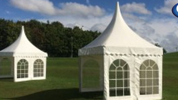 Marquee Hire Type - Pagodas Marquee Hire