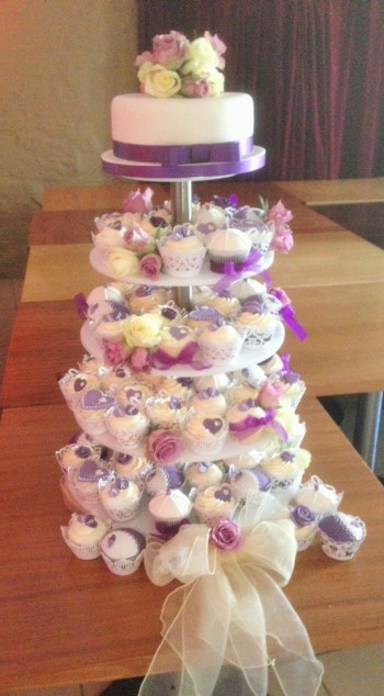 Cupcakes - purples