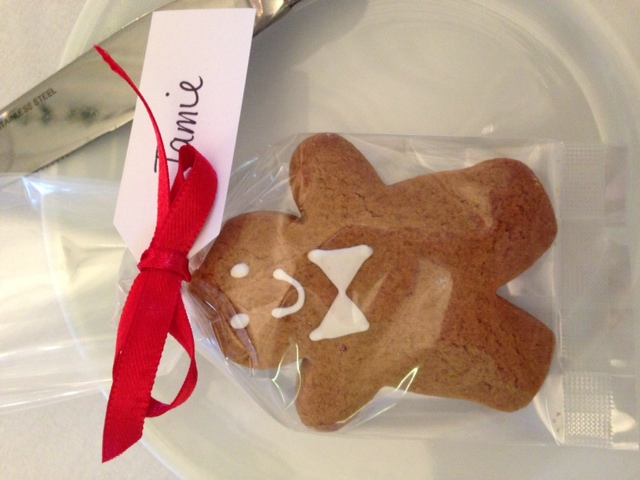 Gingerbread Man Favour