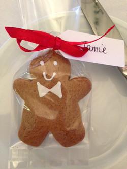 Gingerbread Man Favour
