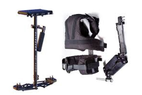 Glidecam Vest and HD-4000 Stabilizer Camera Rig