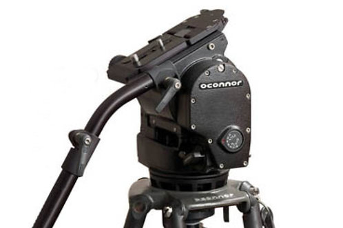 O'Connor 1030B Head with Manfrotto 350B Legs