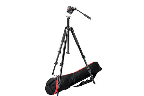 Manfrotto Tripod 055 Legs 701HDV Head