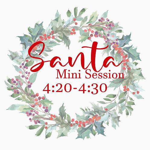 Santa Mini 11.21 @4:20