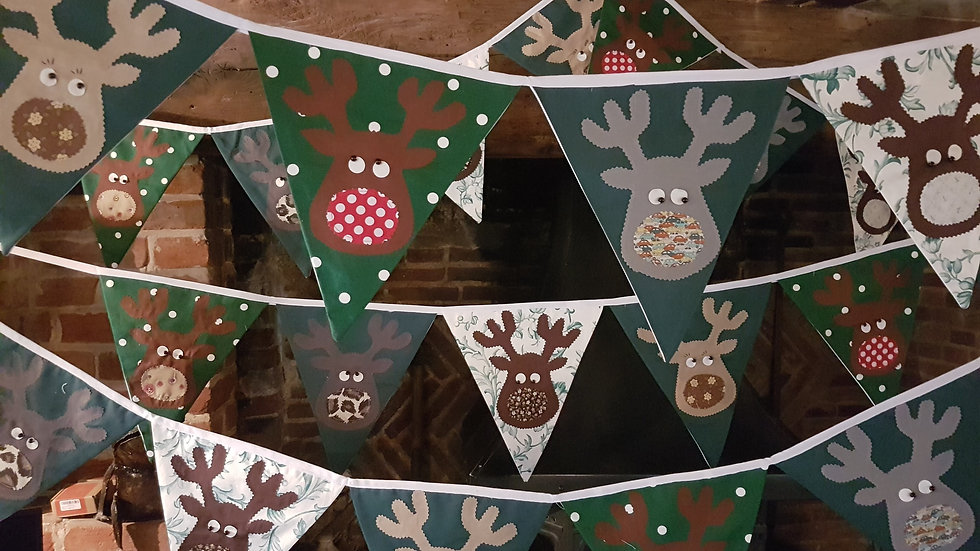 Rudolf and the Gang Giant Bunting - Green