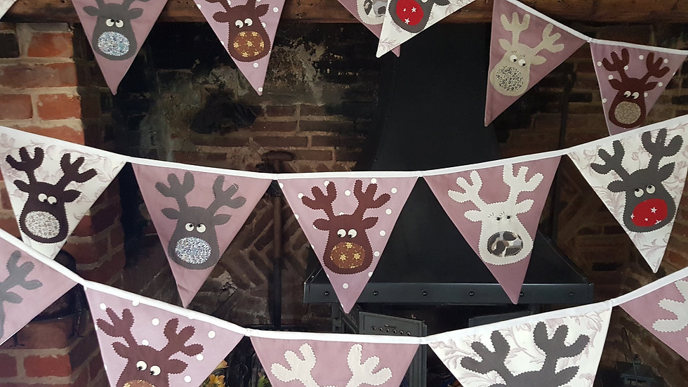 Rudolf and the Gang Giant Bunting - Mauve