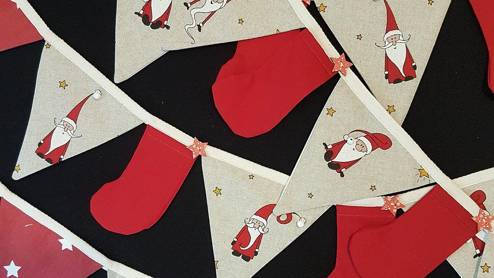 Funky Santa Mini Bunting
