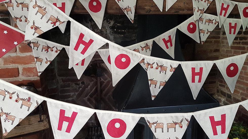 Ho Ho Ho Christmas Midi Bunting