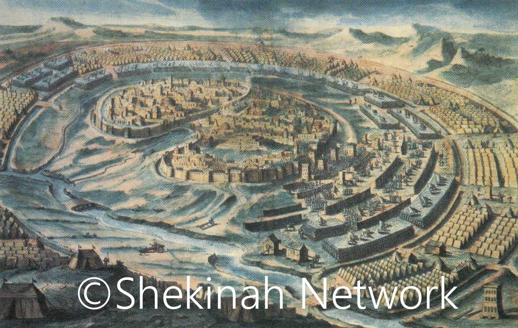 Besieged By Nebuchadnezzar's Army
