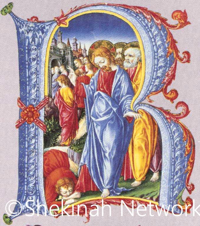 A Leper Kisses Jesus' Feet