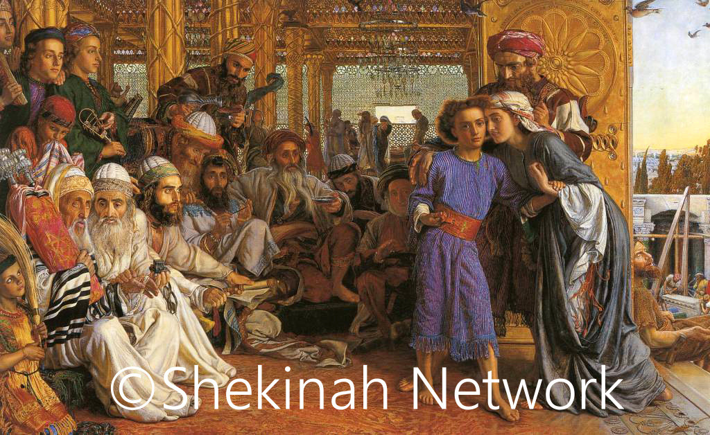 The Finding Of The Savior In The Temple