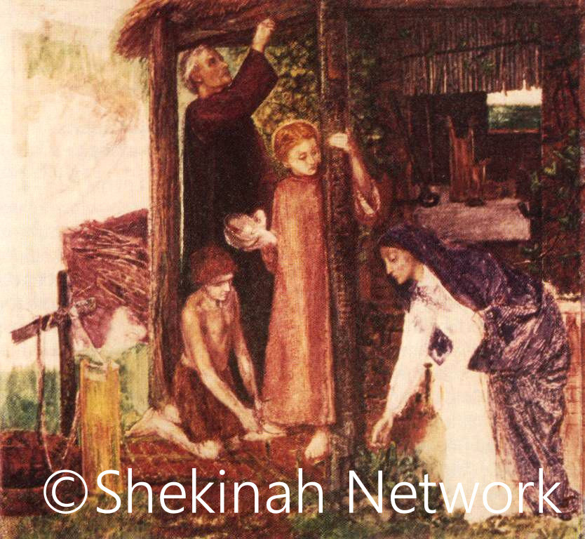 The Holy Family Prepares For Passover