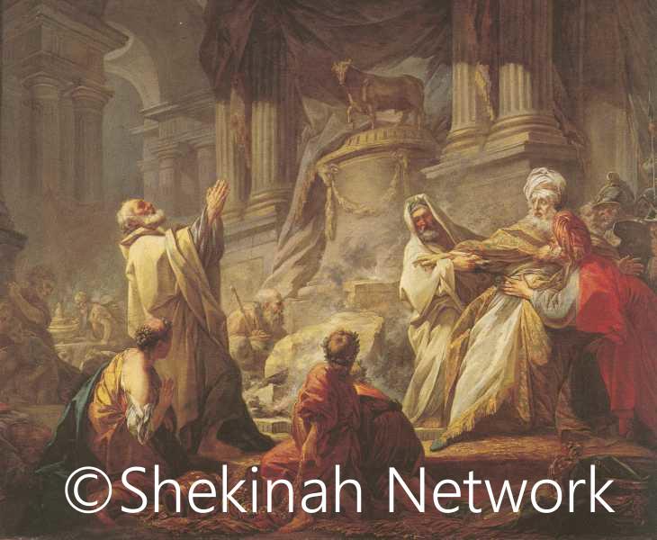 Jeroboam Sacrificing To Idols