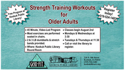 Geri-Fit Exercise Class for Older Adults