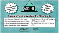 Geri-Fit Exercise Class