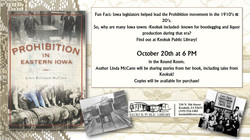 Prohibition in Iowa with Linda McCann