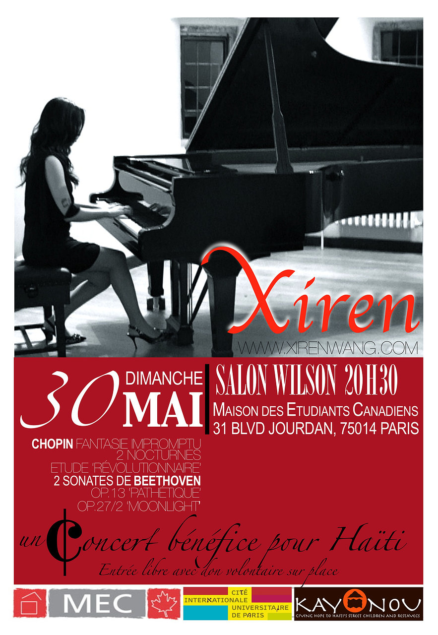 Xiren Wang Paris Concert