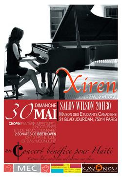 Xiren Wang Paris Concert