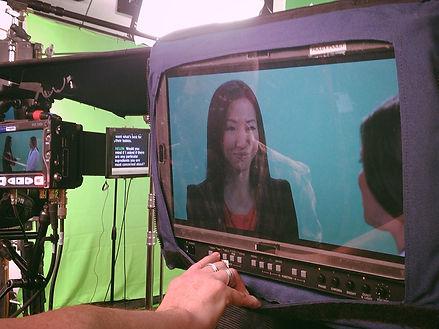 Xiren Wang Green screen
