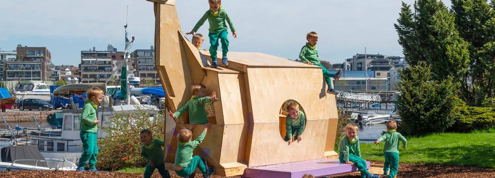 Dinosaur hytta