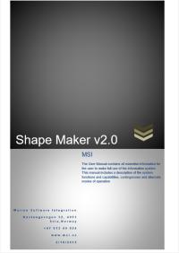Shape Maker user manual tilte page