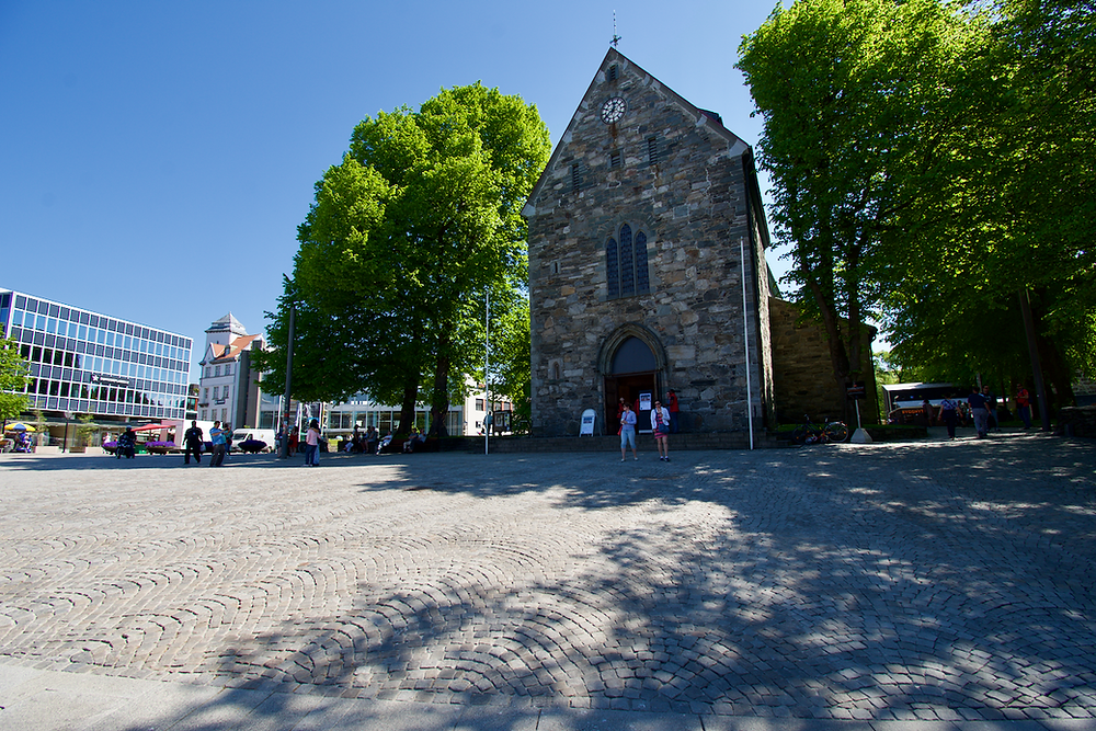 Center of Stavanger.