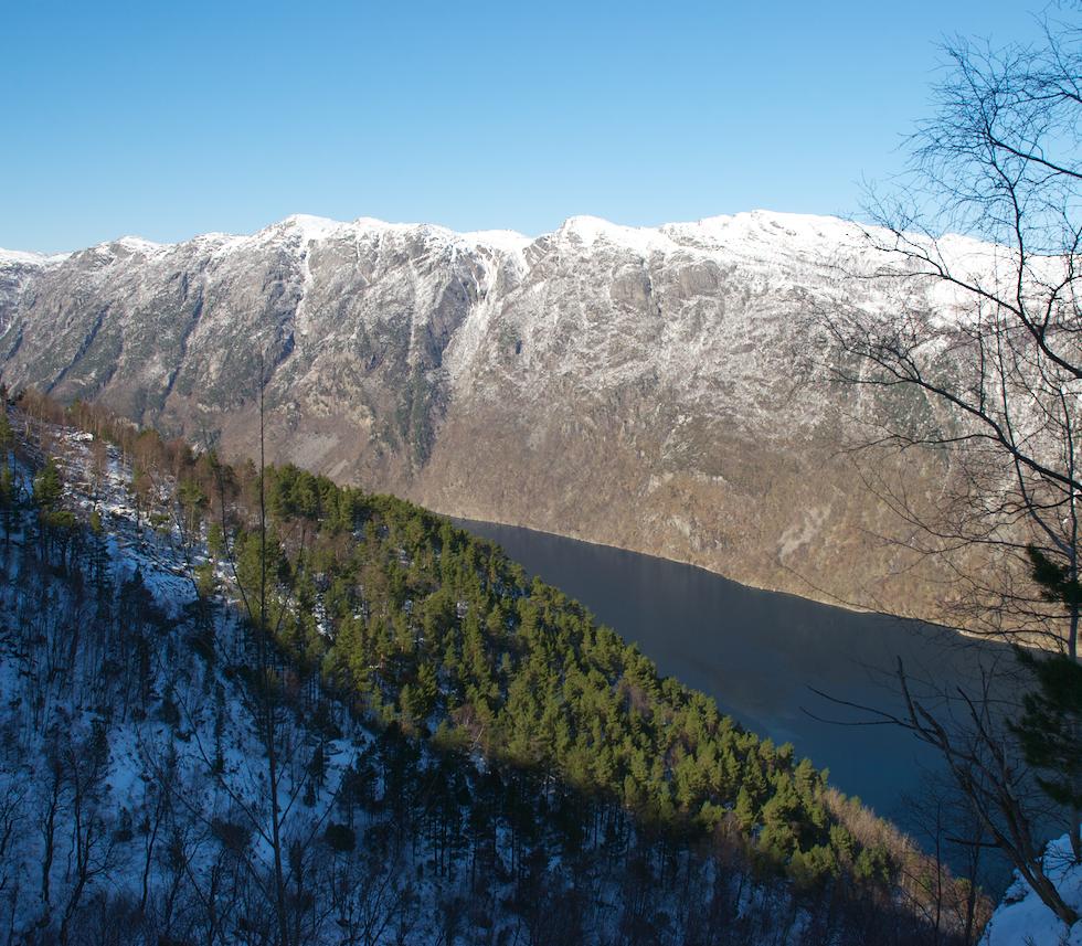 Videw from Billa to Frafjord