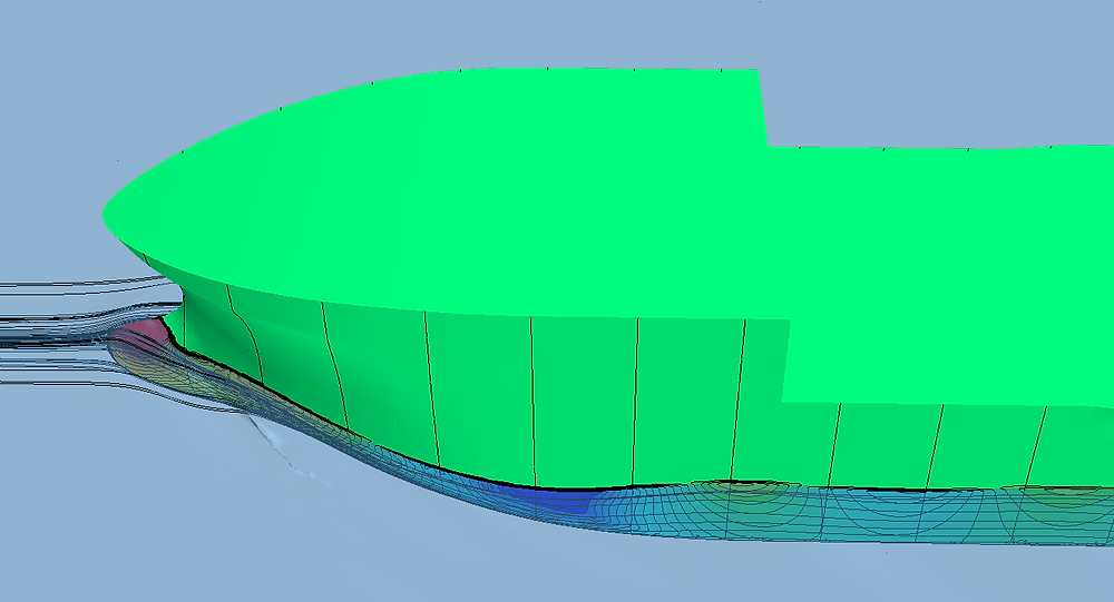 CFD test for same model as it is shown above.