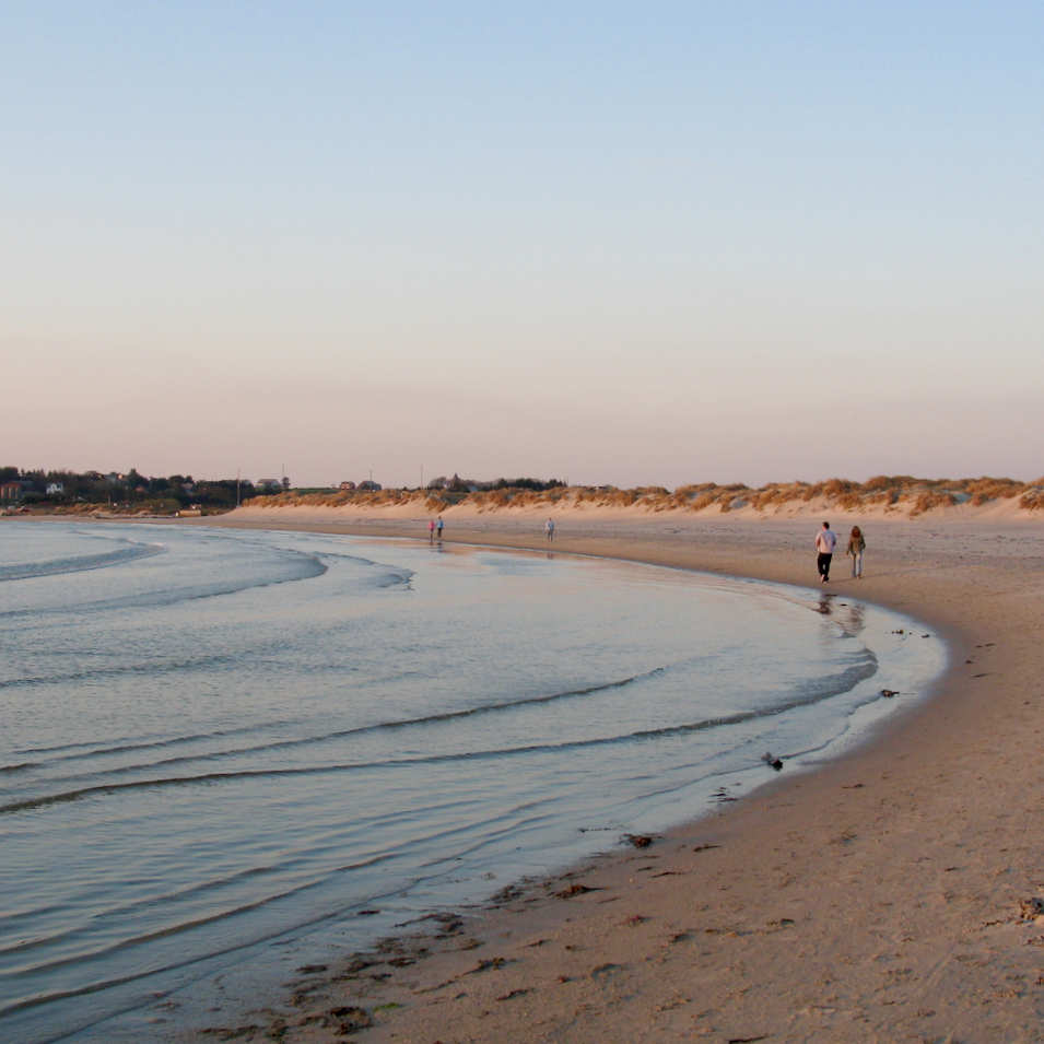Sola Beach on a summer evening