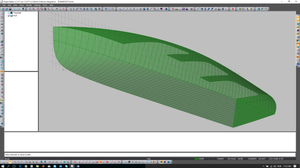 Knucle line as an example of topology between two surfaces.