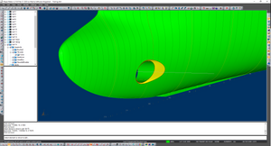 Previouse model changed to eliptical shape of cone.