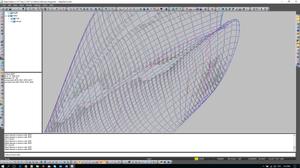 Frames curvature visualization.