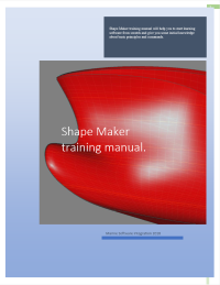 Shape Maker training maual