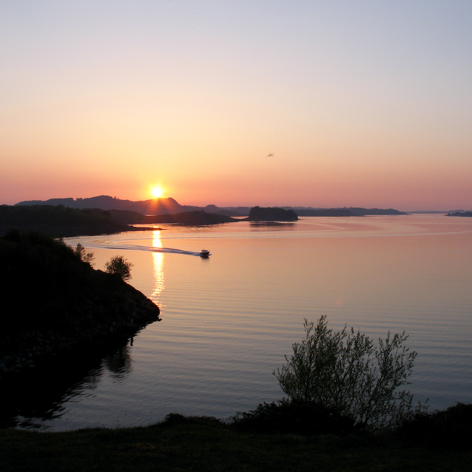 Hafrsfjord Sunset