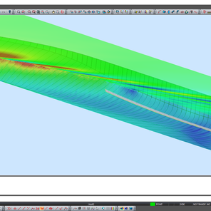 How to make bilge keel based on CFD results.