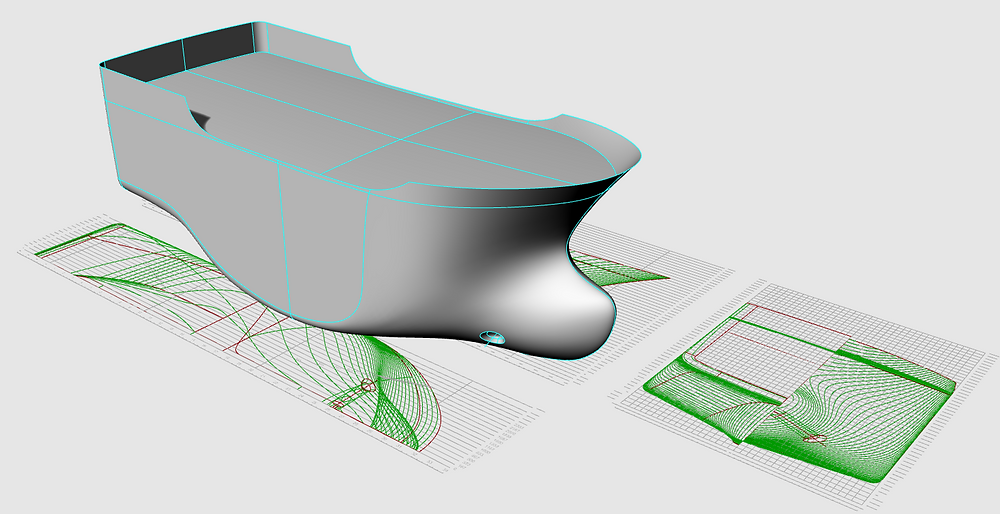 Only hull lines builders use for hull shape definition and checking.