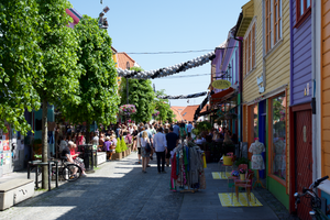 Streets in old town.