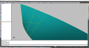 3D View. look how simple this surface...