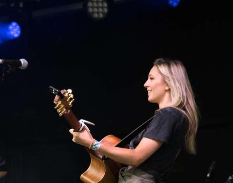 Harriet Rose playing Tramlines Festival