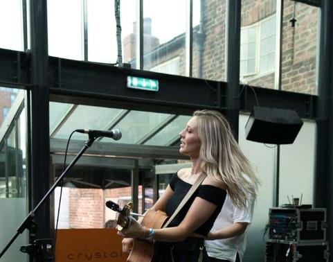 Harriet Rose playing Tramlines Fringe