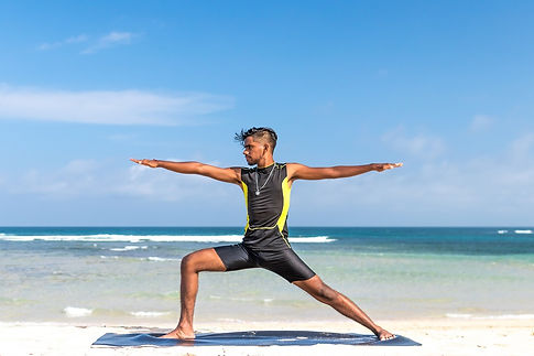 Ashtanga Vinyasa. Helps in reduce stress and improve flexibility