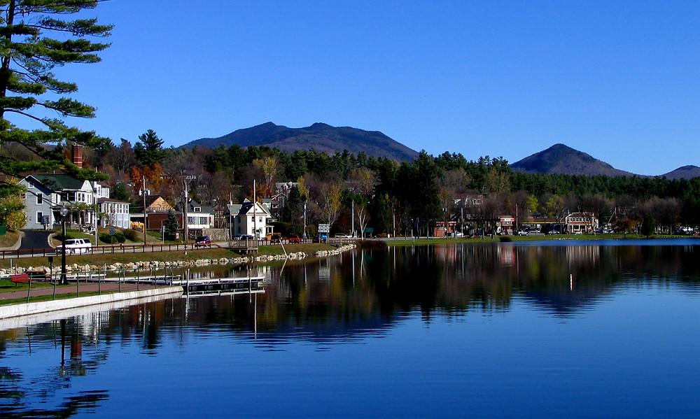 Lake Flower, Saranac Lake, NY